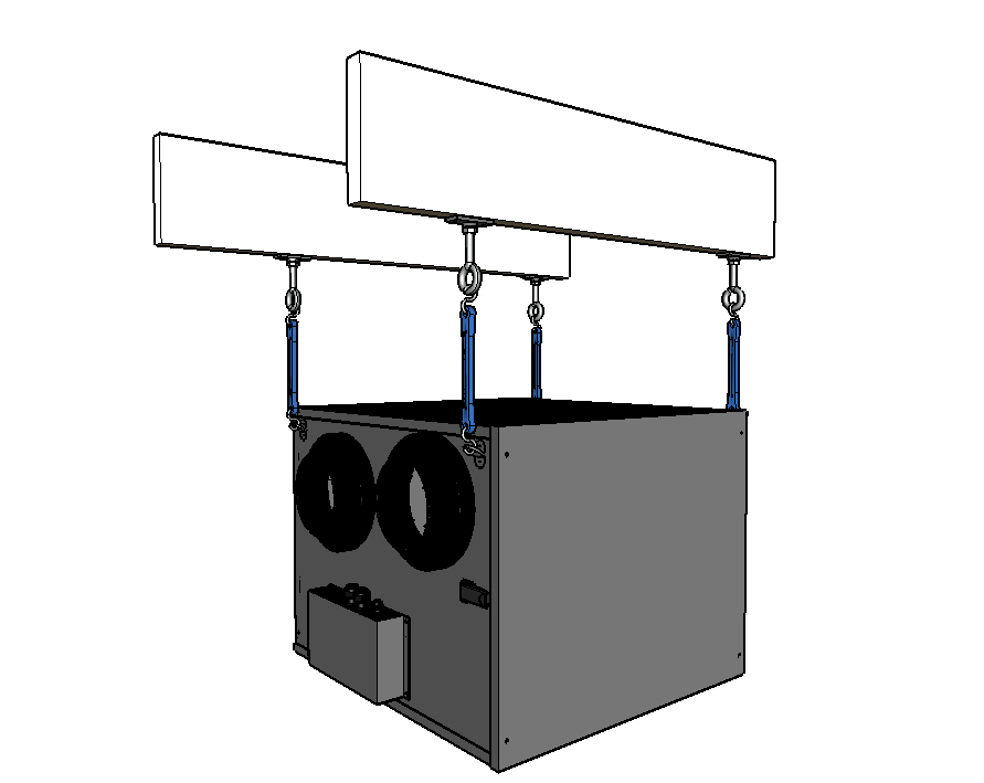 Ceiling kit 3D 200 and kit